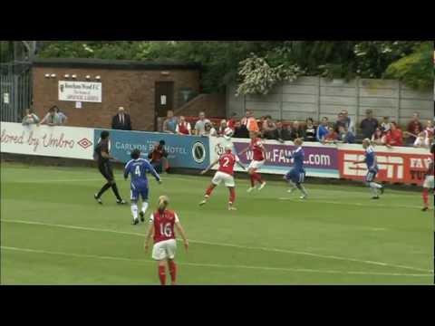 Arsenal 3-0 Chelsea 10/06/2012 | FAWSL