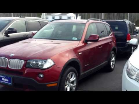 Used BMW X3 For Customer Car Dealers in Maine Saco Portland Bangor Augusta Lewiston Best Price