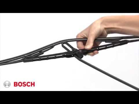 Montering af Bosch bagrude visker video 1