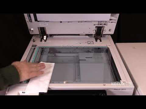 Xerox® AltaLink® C8070 Family Cleaning the Platen Glass   No Audio