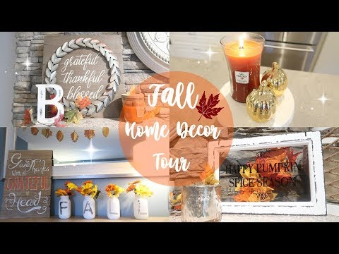 HOME TOUR 2017// FALL HOME DECOR TOUR PART 1// BEAUTY AND THE BEASTONS