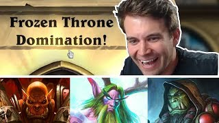 (Hearthstone) Defeating The Lich King: Warrior, Shaman, and Druid