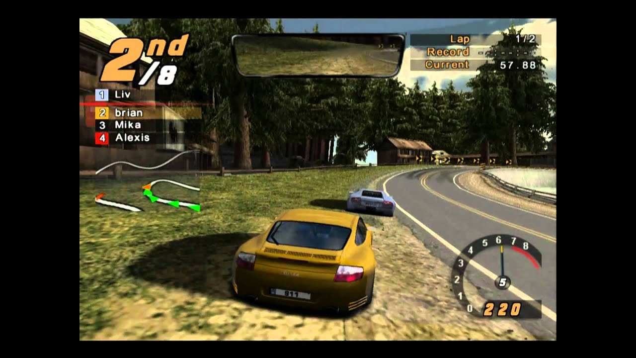 Need For Speed Hot Pursuit 2 Gameplay ( ps2 ) 2010 - YouTube Ps2 Need For Speed