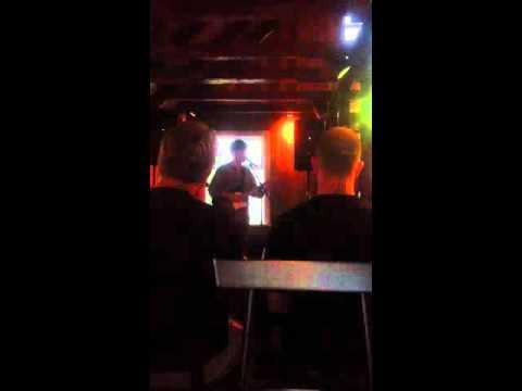 Some Icelandic music at Dillon rock bar, Reykjavík