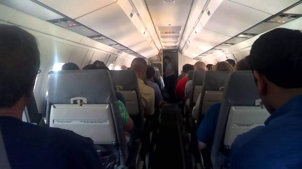 this is what it 39 s like to be inside the smallest commercial plane usairways youtube. Black Bedroom Furniture Sets. Home Design Ideas