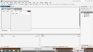 Designing Menus on VBNet Form