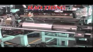 three layer muffler manufacturing machine