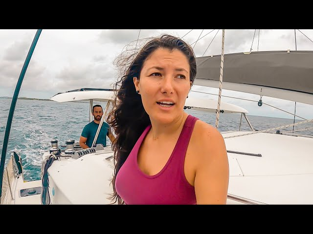 PREPPING 380 MILE CATAMARAN SAILING PASSAGE | Sailboat Living