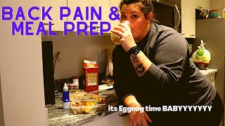 BACK PAIN AND MEAL PREP | Grocery Shopping and Cooking a Meal fit for... Lazy Cooks