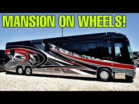 Super Luxury On Wheels! The Entegra Cornerstone Class A Motorhome!