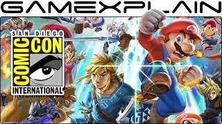Super Smash Bros. Ultimate to be Playable at San Diego Comic Con + Other Switch Games