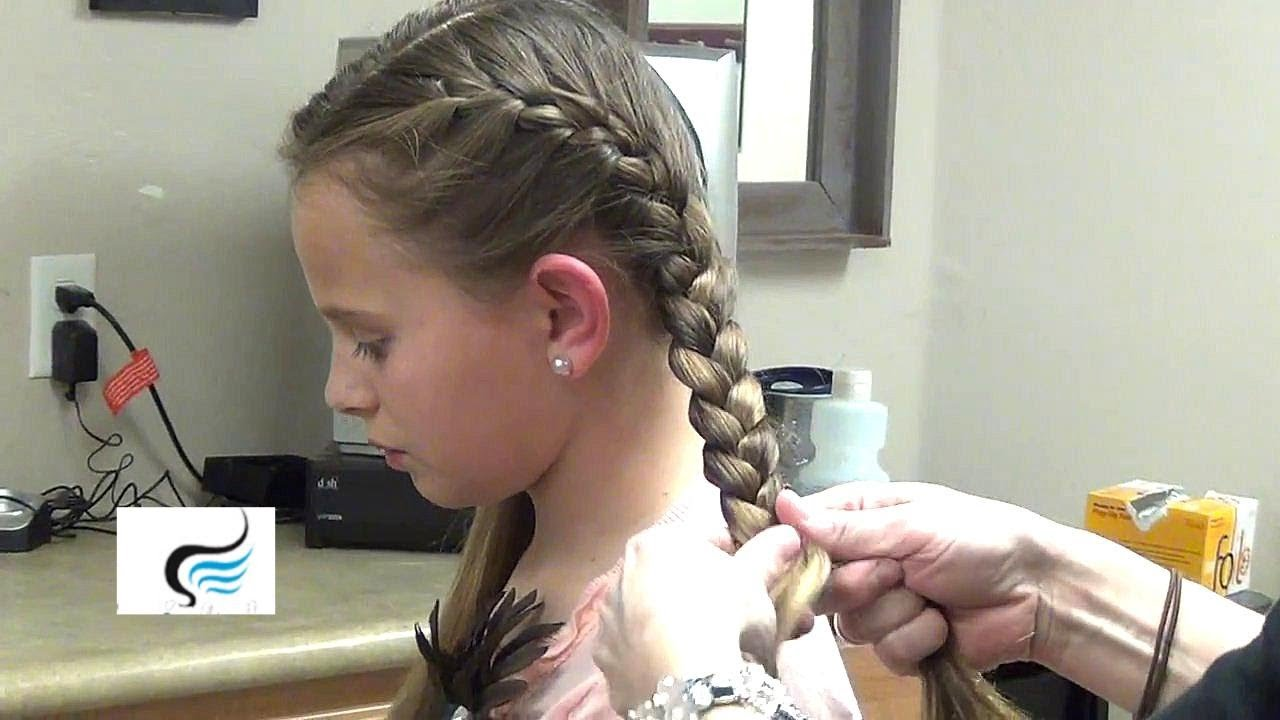 How To Braid Fishtail Braid Hairstyles Youtube