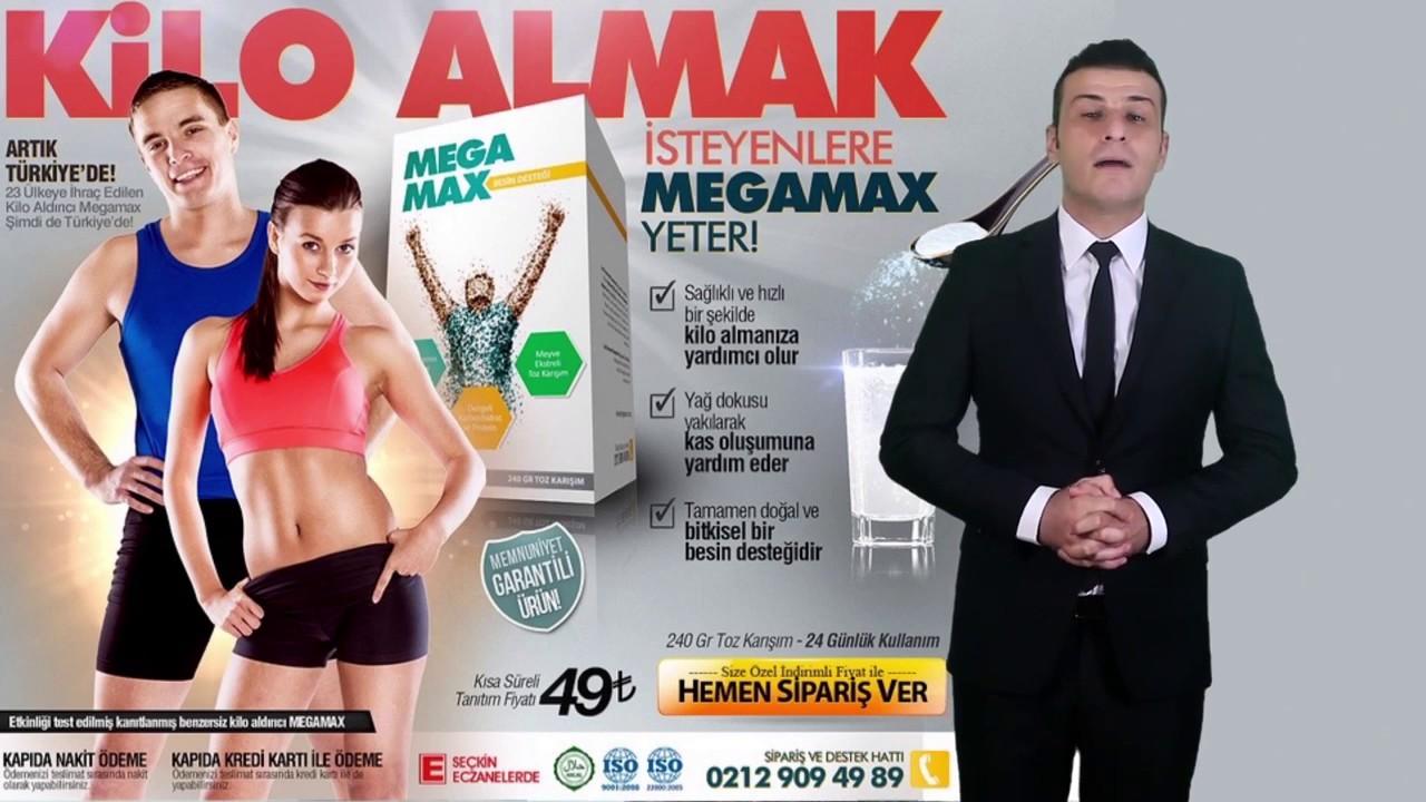Megamax besin değeri kilo aldırır mı