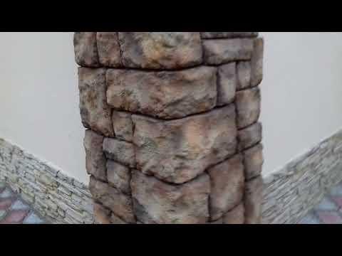 Штукатурка Фасада под камень