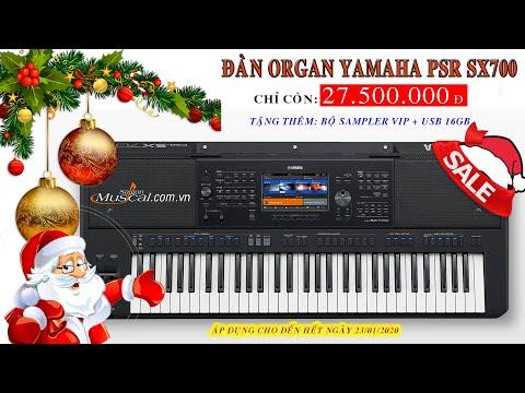 Đàn Yamaha PSR SX700 Với Liên Khúc Nhạc Giáng Sinh Sôi Động 2020 -Nhạc Cụ Sài Gòn Khuyến Mãi