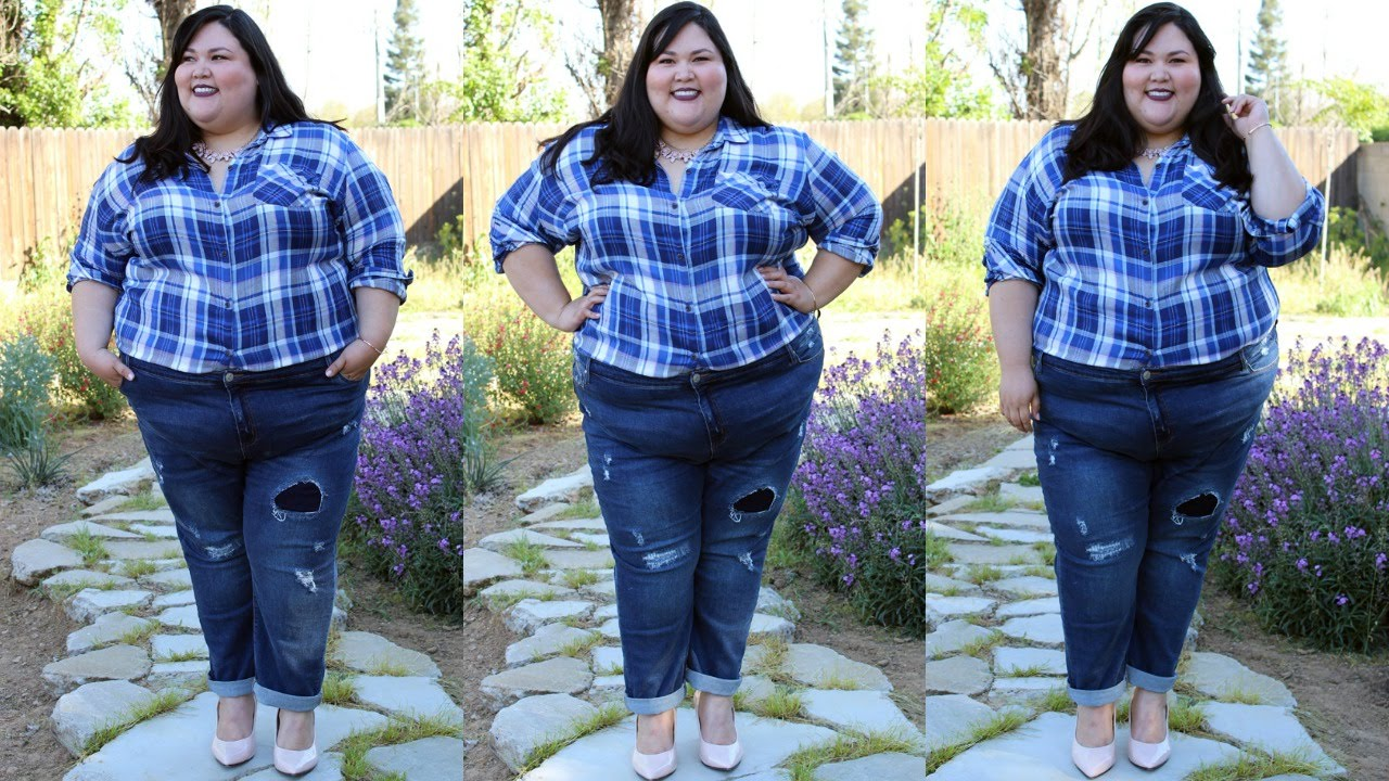 Simply Be Plus Size Jeans Review - YouTube