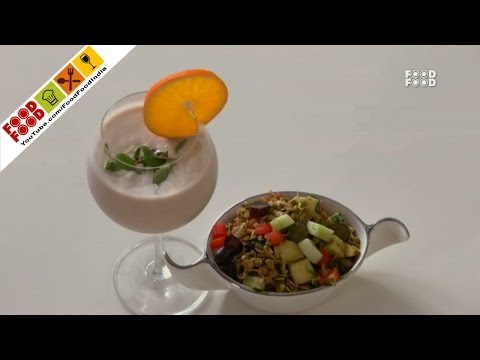 Sprout Bhel | Food Food India - Fat To Fit | Healthy Recipes
