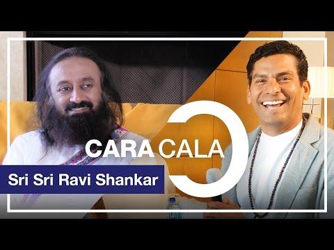 """Cara a Cala - Entrevista a Sri Sri Ravi Shankar """"la felicidad en la sencillez"""". Ismael Cala"""