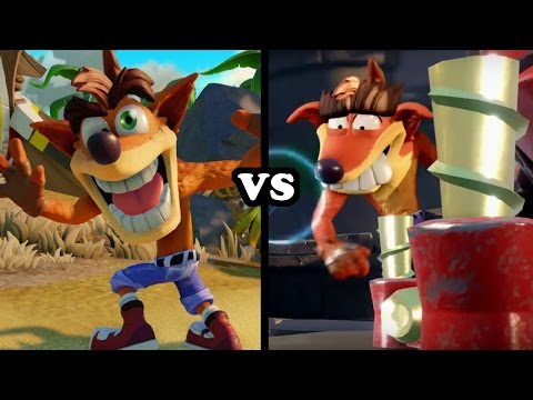 Skylanders Imaginators - Crash Bandicoot VS Fake Crash