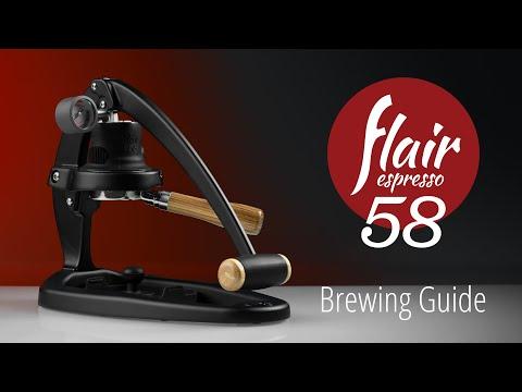 Flair Espresso Maker 58   Brewing Guide