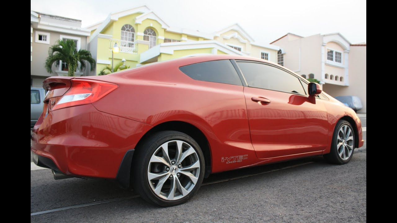 Review Honda Civic SI Coupe 2012   Español