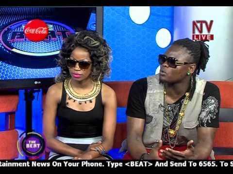 Pallaso & Sheebah  Live on NTV The Beat