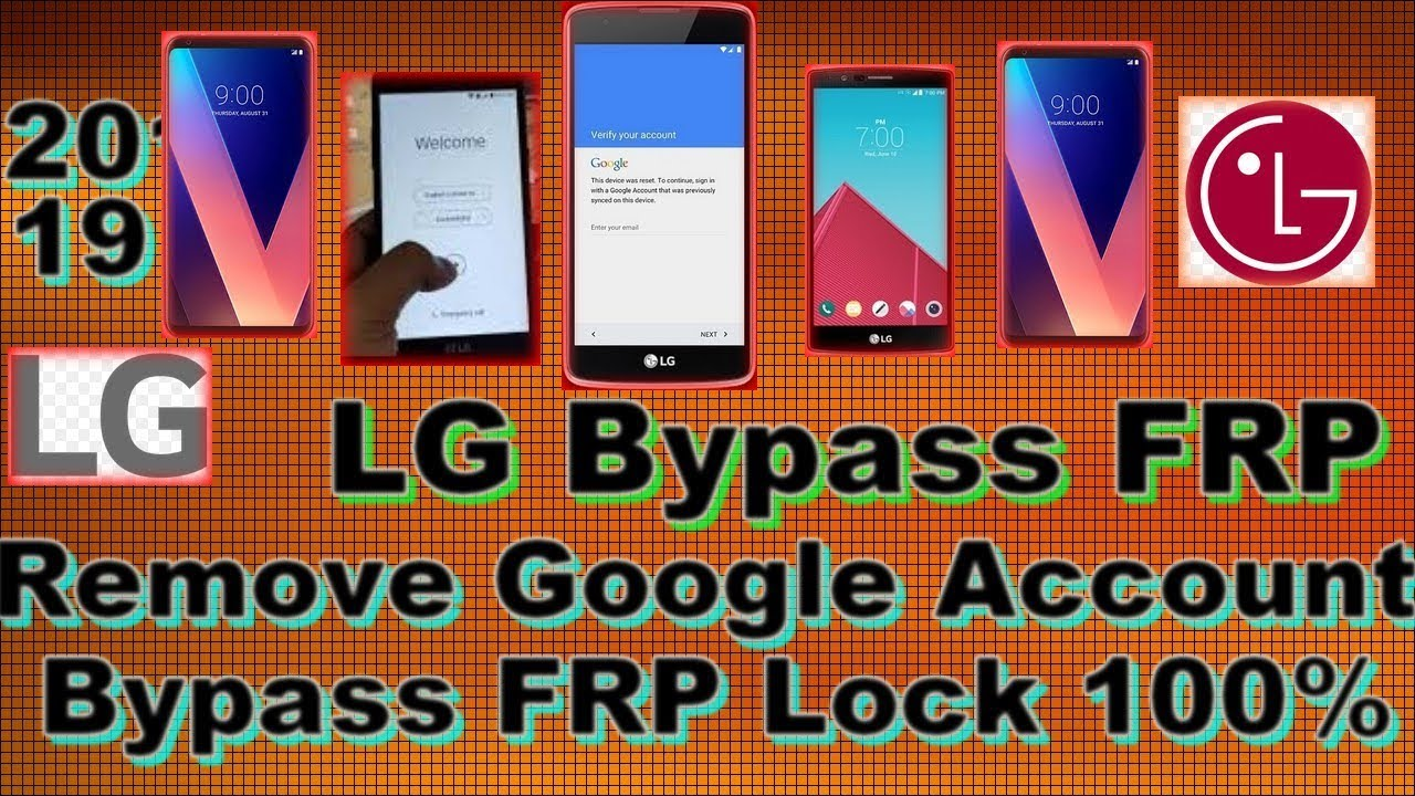☑️ How To Bypass FRP /🆓 Remove Google Account for LG phones 2019