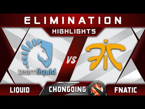 Liquid vs Fnatic Elimination Chongqing Major CQ Major Highlights 2019 Dota 2