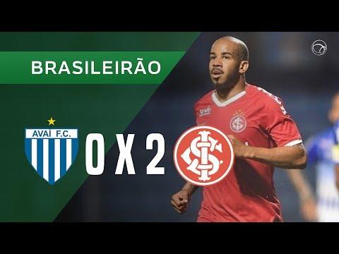 AVAÍ 0 X 2 INTERNACIONAL - GOLS - 17/10 - BRASILEIRÃO 2019