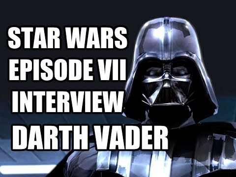 Star Wars Episode 7 Darth Vader Interview - Dave Prowse