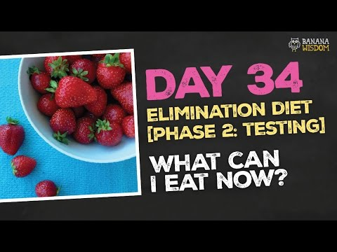 Elimination Diet: Reintroduction phase results!