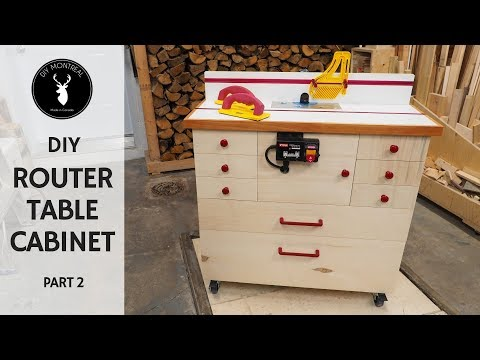 Router Cabinet | DIY Router Table Build - Part 2