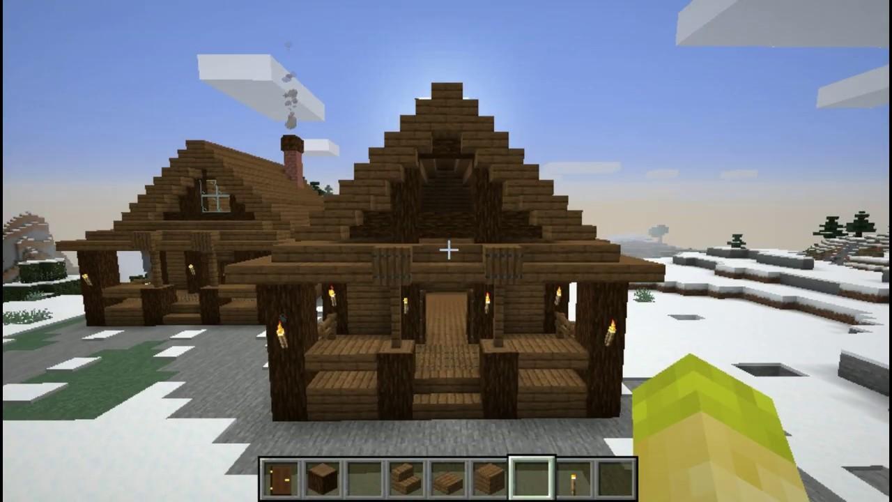 Spruce House Tutorial! - (Minecraft)