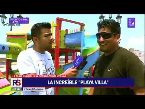 Reporte Semanal: el verano en playa 'Villa'