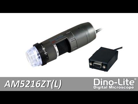 Dino-Lite AM5216ZT(L) VGA microscope for 720p Live Viewing