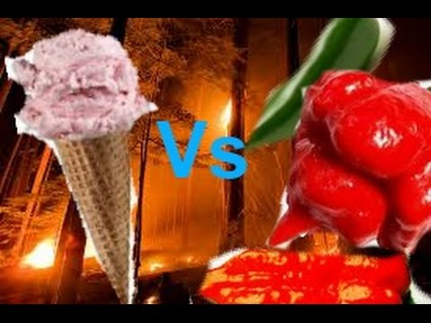 Ice Cream VS Hot Peppers (Google Doodle: Scoville Scale Pepper Game)