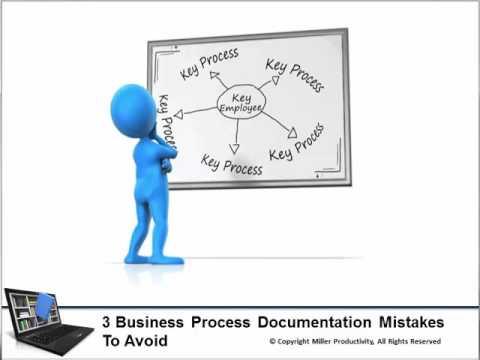 Mistakes Business Process Documentation YouTube - Business process documentation