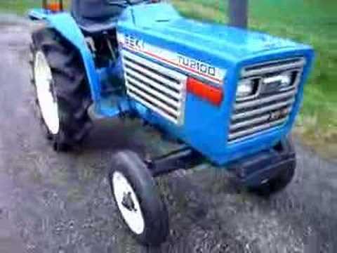 tu2100 iseki tractor tracteur youtube rh youtube com Bolens Iseki Iseki USA