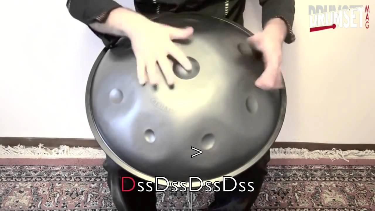 LEZIONE DI HANDPAN - Split Finger Technique - LorisLombardo