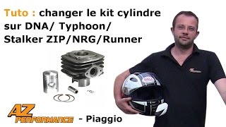 Tuto Changer le cylindre / piston / culasse de son Typhoon / Stalker / Zip / ...