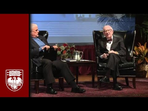 Justice John Paul Stevens at the University of Chicago