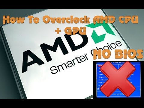 How To Overclock AMD CPU and GPU [WITHOUT BIOS] (Catalyst Control Center)