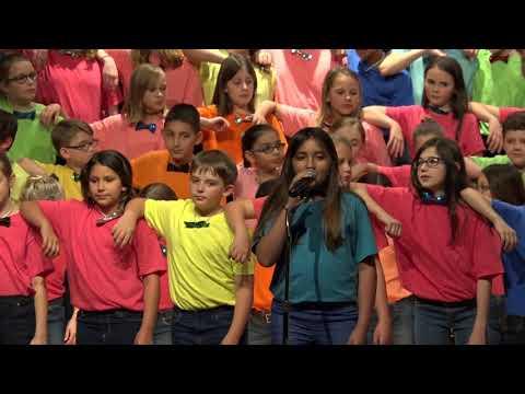 Hahira Elementary School CHOIR SPRING 2018 (HES)