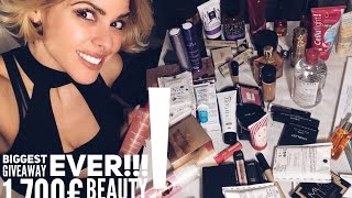The BIGGEST BEAUTY GIVEAWAY EVER by Elena Galifa!