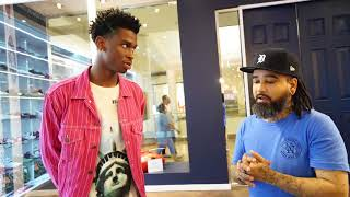 Sneaker Shopping  Shai Gilgeous-Alexander at Urban Necessities (11th pick in the 2018 NBA Draft!!!!)
