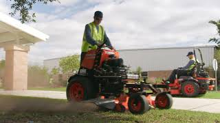 Kubota Commercial Mowers: Together we do more.