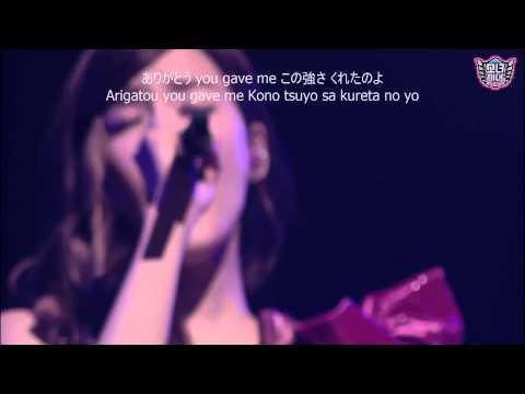 SNSD - Not Alone (Romaji Lyrics) [Japan Ver.]