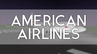 Roblox | American Airlines Flight | Economy Class