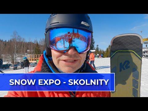 SNOW EXPO 2021 testy nart w ośrodku Skolnity