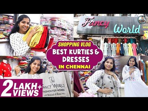 Best Kurtis and Dresses | Shopping Vlog in Chennai | Lakshya Junction